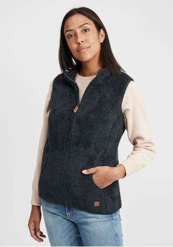 OXMO Sweatweste »Theri«, Weste aus Teddy-Fleece Stoff kaufen