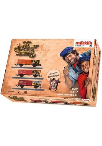 """Märklin Güterwagen """"Märklin Start up  -  König Alfons, Frau Waas und Herr Ärmel  -  Jim Knopf©  -  44815"""", Spur H0 kaufen"""