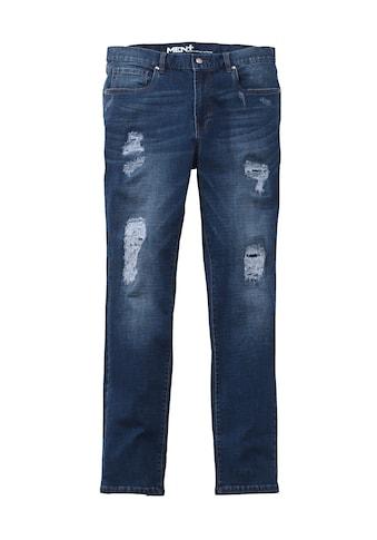 Men Plus by HAPPYsize Destroyed Jeans Slim Fit kaufen