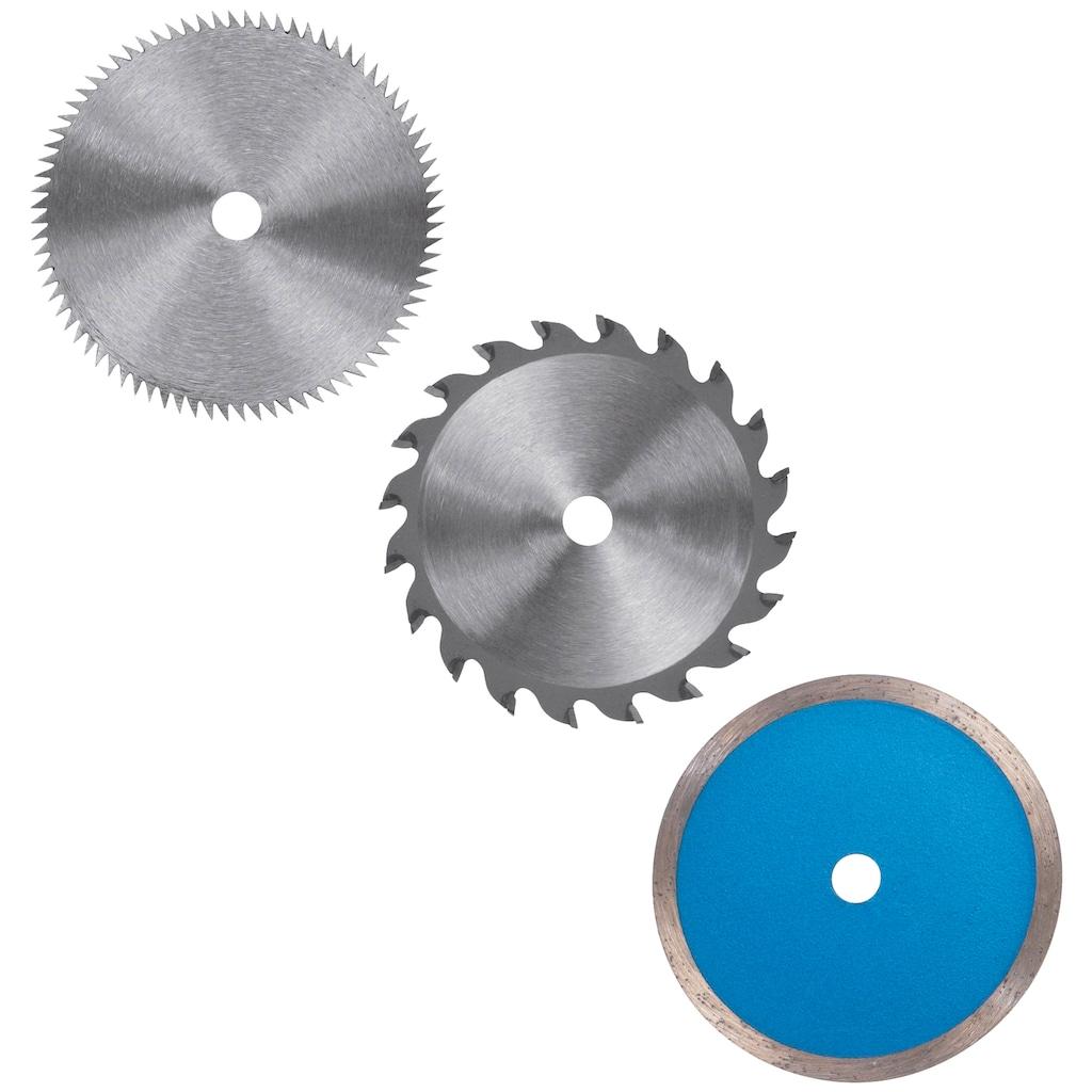 Einhell Mini-Handkreissäge »TC-CS 860 Kit«, 450 W, 6000 U/min, mit Parallelanschlag