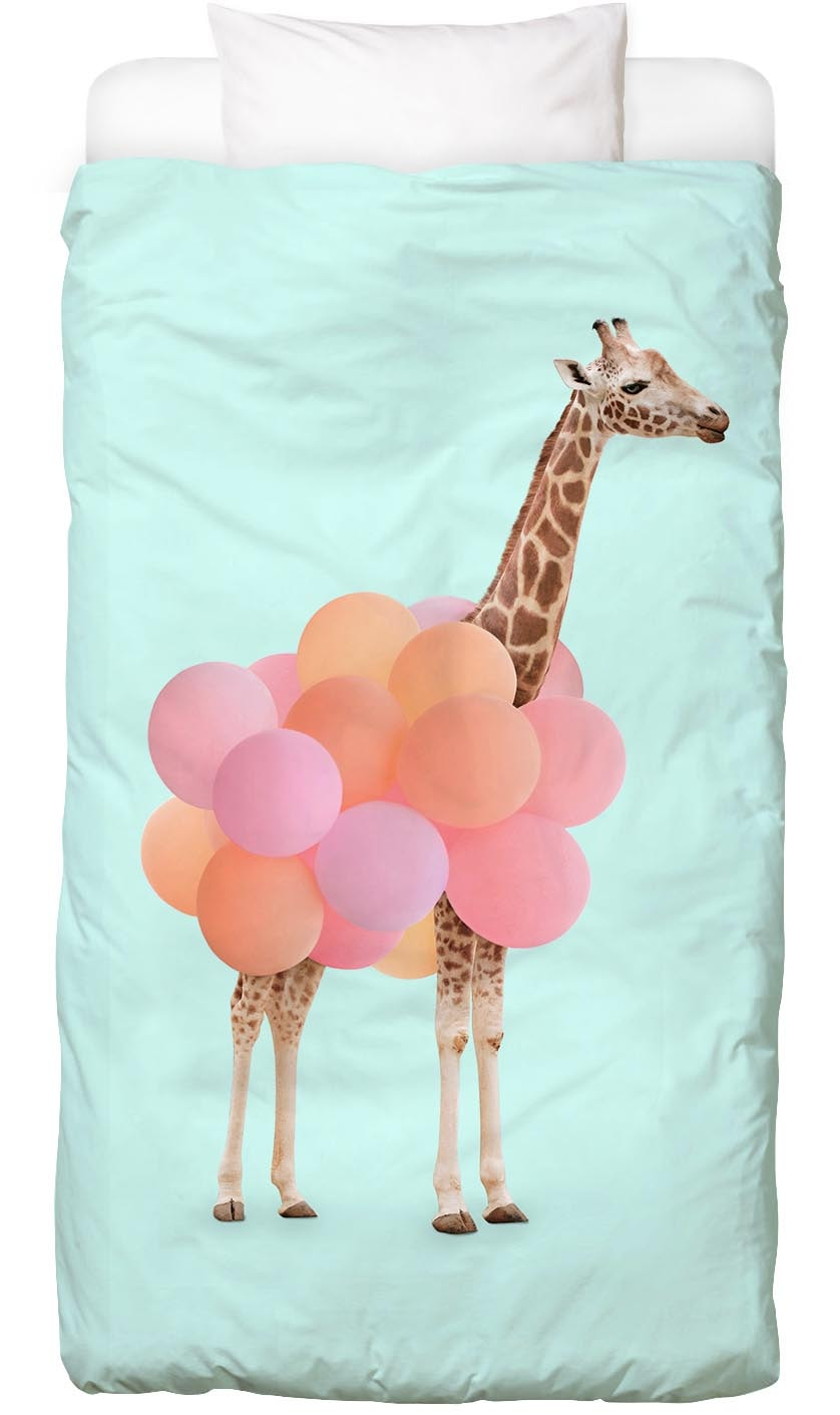 Bettwäsche »Party Giraffe«, Juniqe
