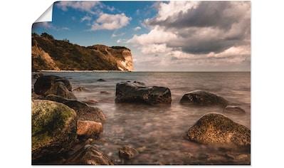 Artland Wandbild »Die Ostseeküste auf der Insel Rügen«, Küste, (1 St.), in vielen... kaufen