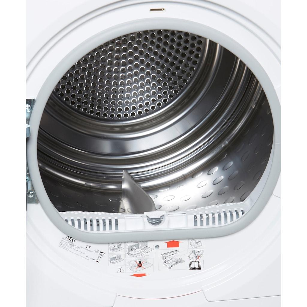 AEG Wärmepumpentrockner »T9DE98685«, mit 3D Scan-Technologie und WiFi Steuerung