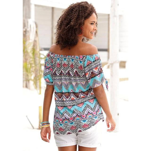 s.Oliver Beachwear Rundhalsshirt