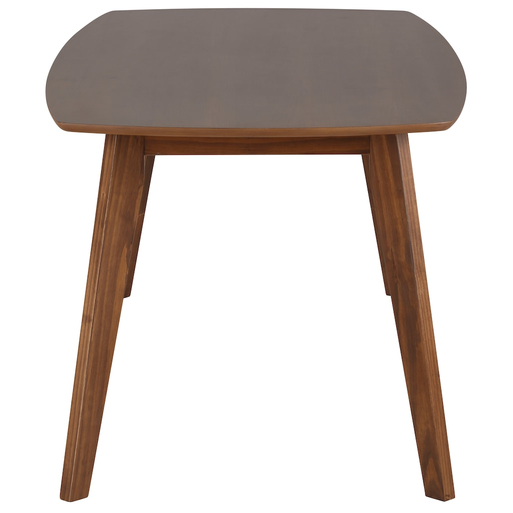 Home affaire Esstisch »Sedona«, in zwei verschiedenen Größen, in wunderschöner Holzoptik und zwei verschiedenen Tischbreiten