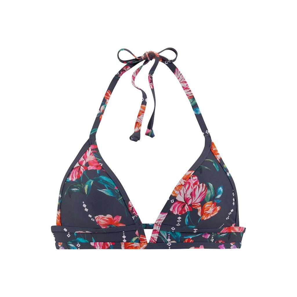 Sunseeker Triangel-Bikini-Top »Modern«, mit floralem Design