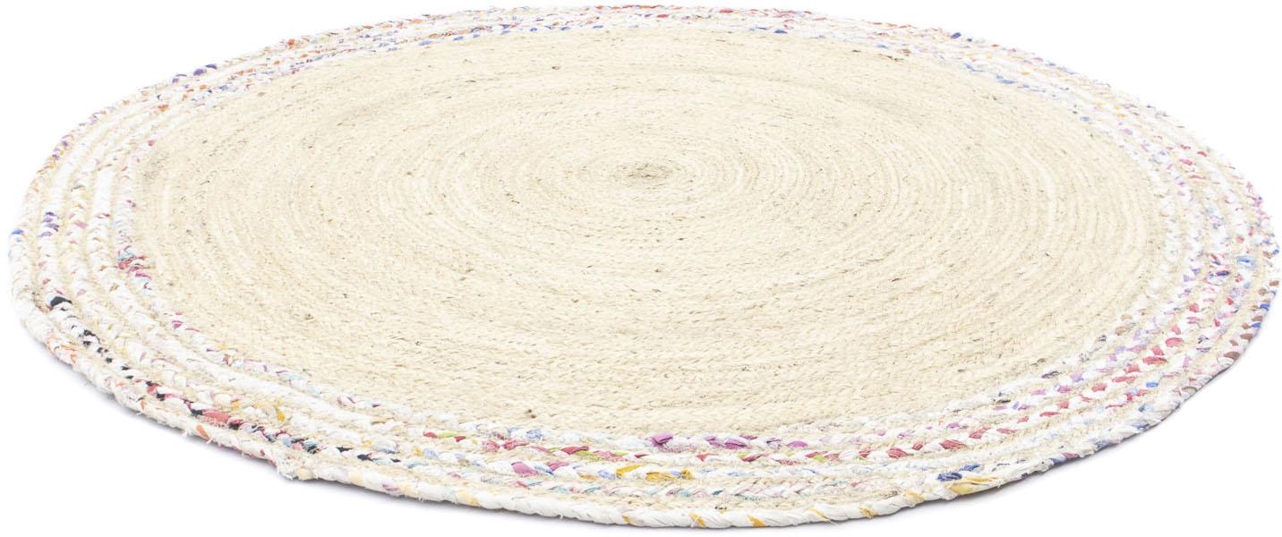 morgenland Teppich Sisalteppich Dreors, rund, 6 mm Höhe beige Esszimmerteppiche Teppiche nach Räumen