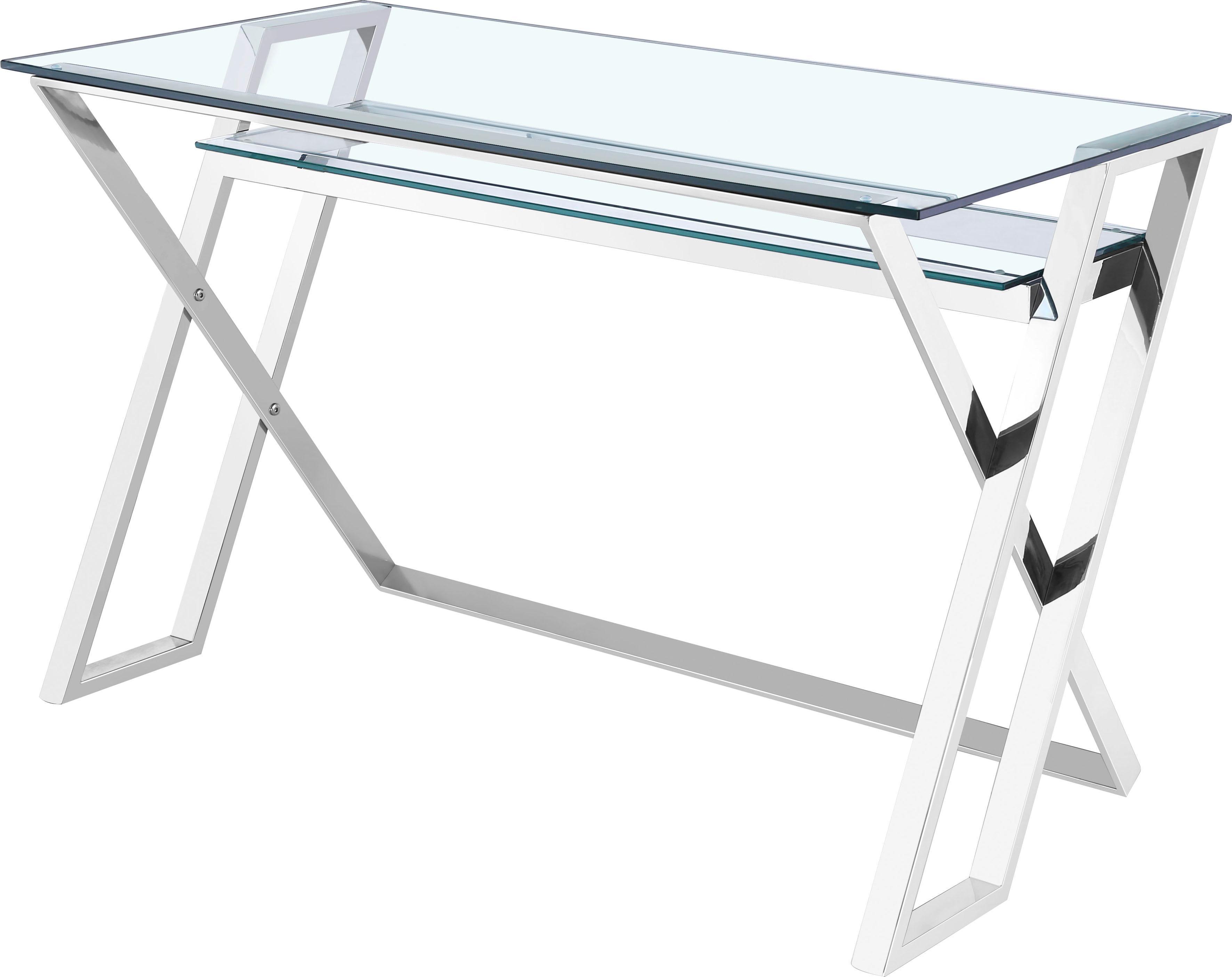 Home affaire Schreibtisch Harvey aus Chrom