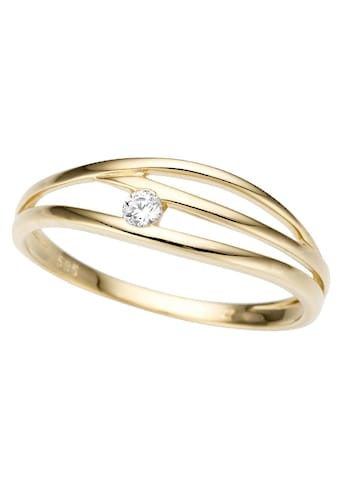 Firetti Goldring »Glanz, massiv, teilweise mehrreihig, verlaufend« kaufen
