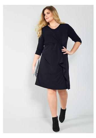 Sara Lindholm by HAPPYsize Jerseykleid mit Knotenoptik kaufen