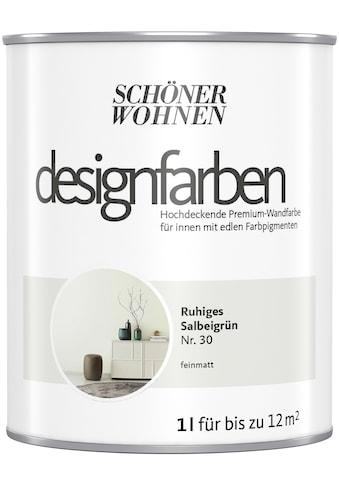 SCHÖNER WOHNEN-Kollektion Wand- und Deckenfarbe »Designfarben«, hochdeckend, Ruhiges... kaufen