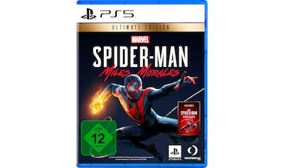 PlayStation 5 Spiel »Marvel's Spider-Man: Miles Morales Ultimate Edition«, PlayStation 5 kaufen