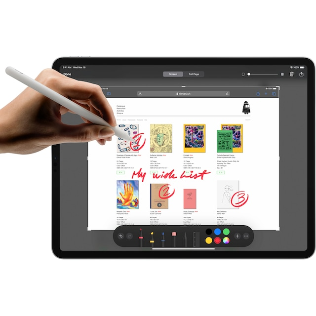 Apple »iPad Pro 11.0 (2020) - 128 GB Cellular« Tablet (11'', 128 GB, iPadOS, 4G (LTE))