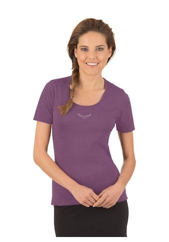 Trigema T-Shirt mit Swarovski® Kristallen kaufen