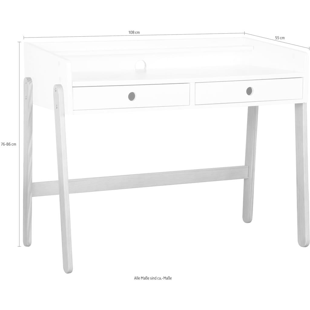 Lüttenhütt Schreibtisch »Dolidoo«, in skandinavischem Look, Home schooling