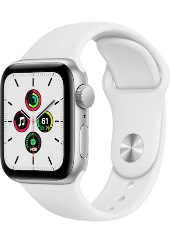 Apple Watch »SE GPS, Aluminiumgehäuse mit Sportarmband 40mm« (, inkl. Ladestation (magnetisches Ladekabel) kaufen
