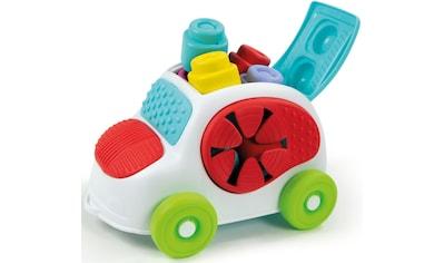 Clementoni® Spielbausteine »Clemmy Soft - Sensorisches Auto«, (9 St.), Made in Europe kaufen
