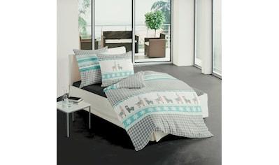 TRAUMSCHLAF Bettwäsche »Alpaka grau«, Winterbettwäsche in warmer Qualität kaufen