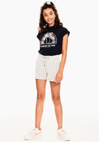 Garcia T-Shirt, Druck mit Palmen kaufen