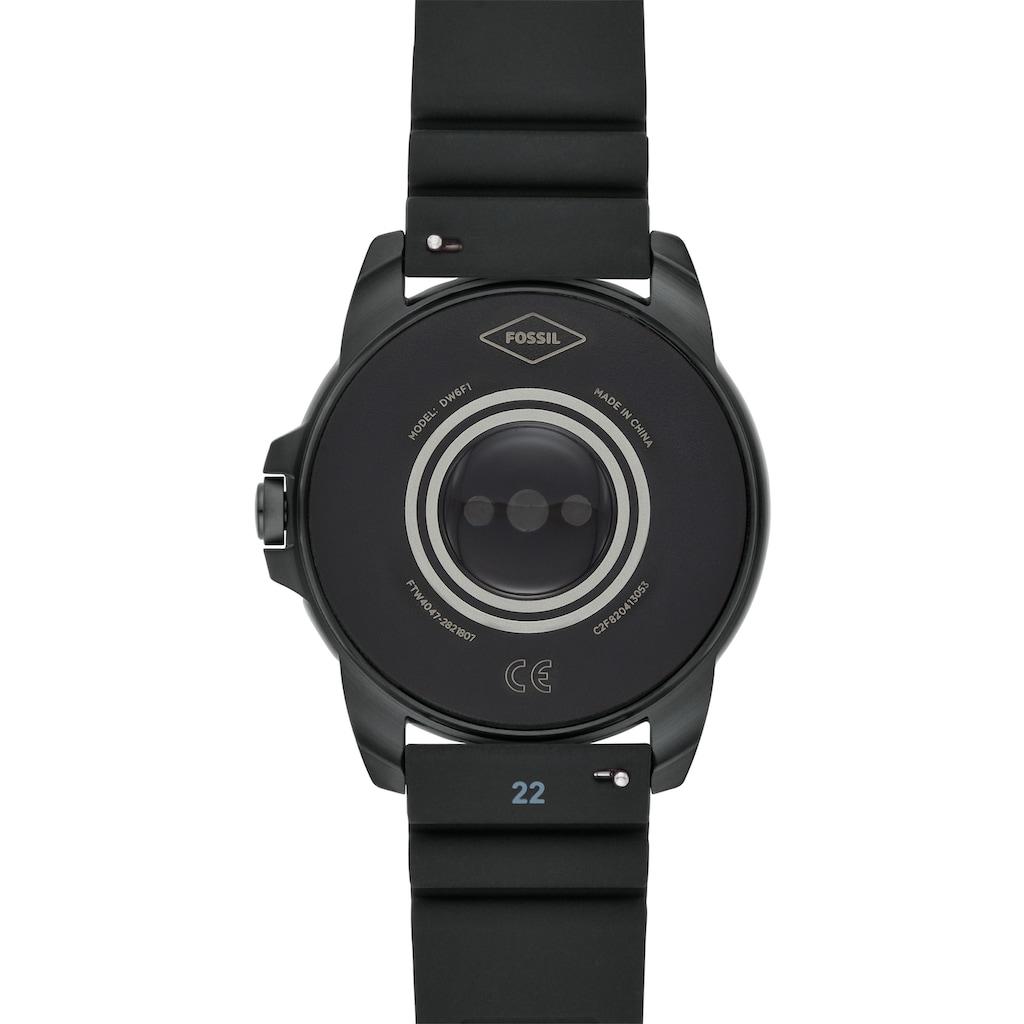 Fossil Smartwatches Smartwatch »GEN 5E SMARTWATCH, FTW4047« (, Wear OS by Google, mit individuell einstellbarem Zifferblatt