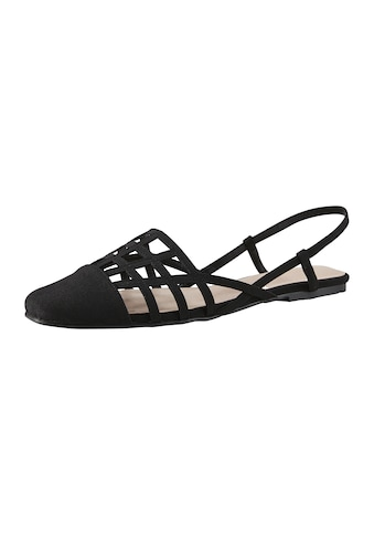 Sandalette im Cut-Out-Design kaufen