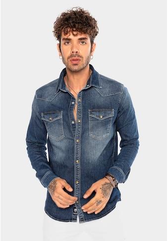 RedBridge Jeanshemd »San Angelo«, mit Brusttaschen kaufen