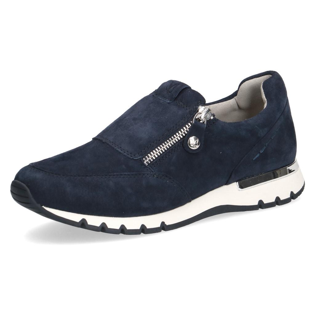 Caprice Slip-On Sneaker, mit Reißverschluss, H-Weite