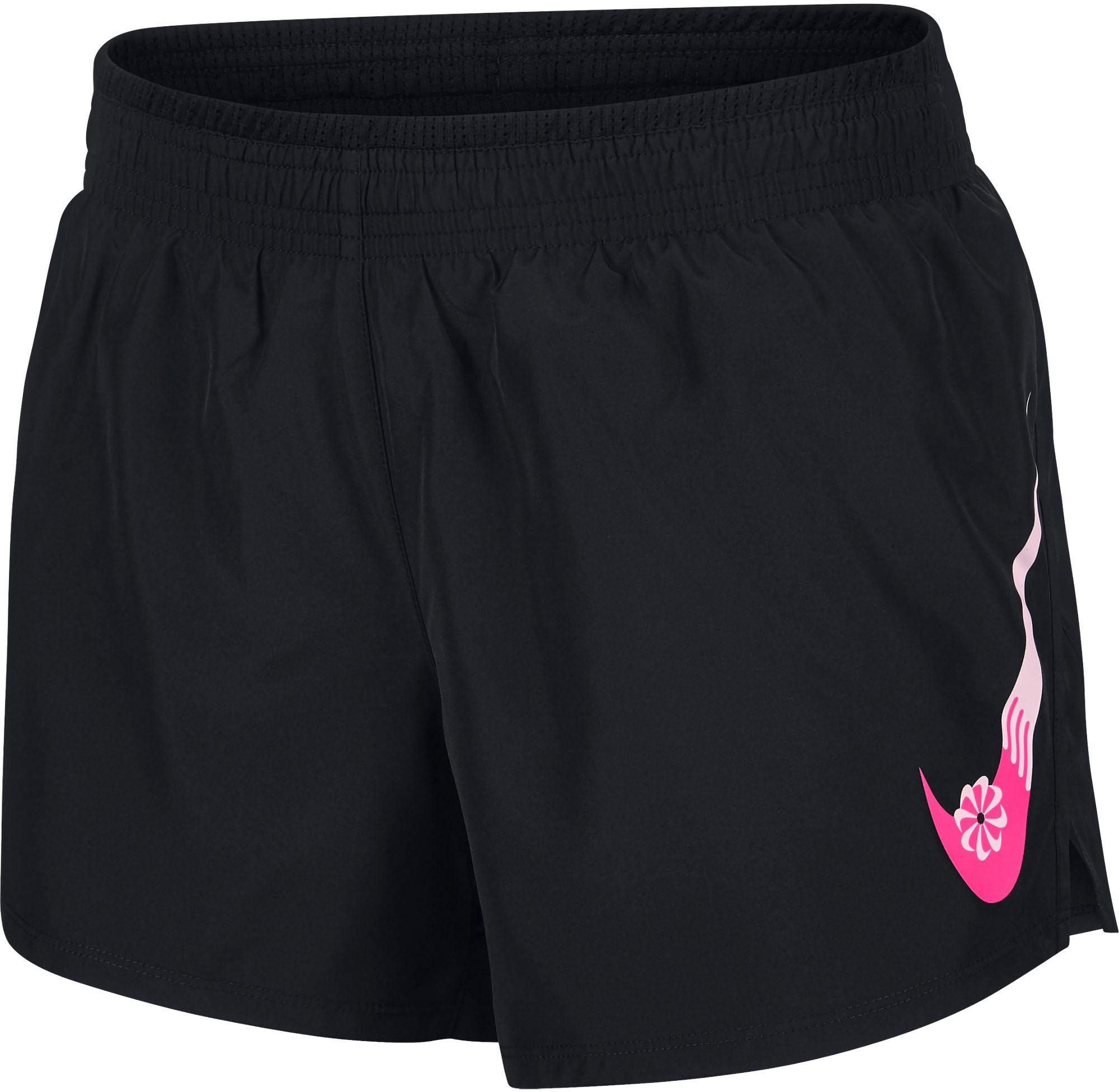 Nike Laufshorts Icon Clash 10k Short Gx schwarz Damen Kurze Hosen