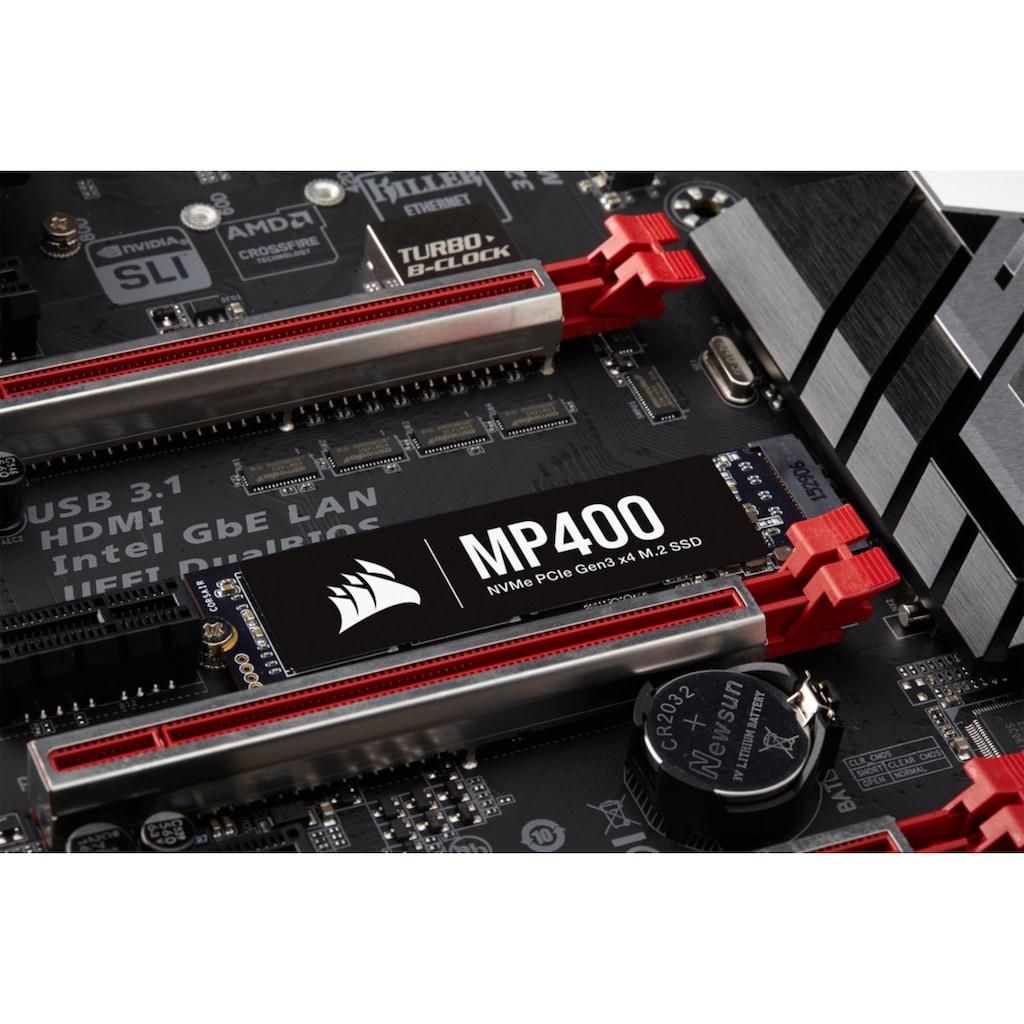 Corsair interne SSD »MP400 2TB NVMe PCIe Gen3 x4 M.2 SSD«