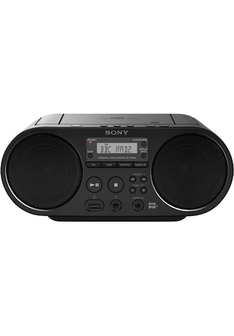 Sony Boombox »ZS-PS55B mit DAB«, (UKW mit RDS 4 W) kaufen