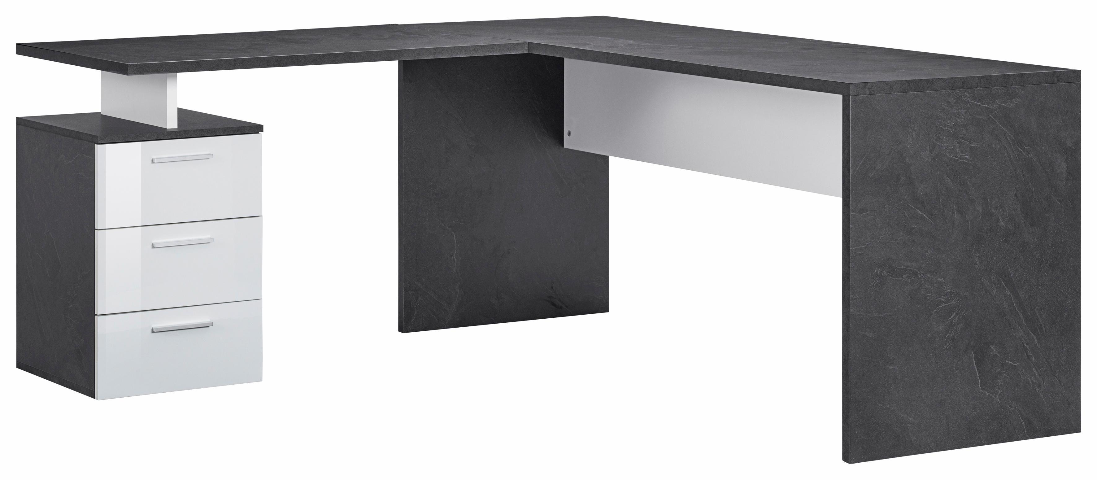 Tecnos Eck-Schreibtisch »New Selina«, mit 3 Schubkästen