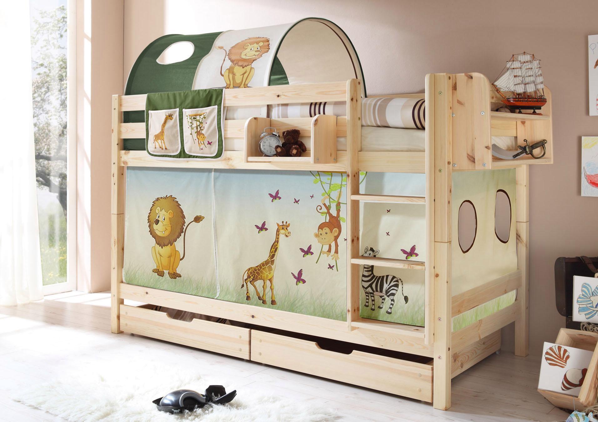 Etagenbett Dreistöckig : Kinder etagenbetten online kaufen auch auf rechnung baur