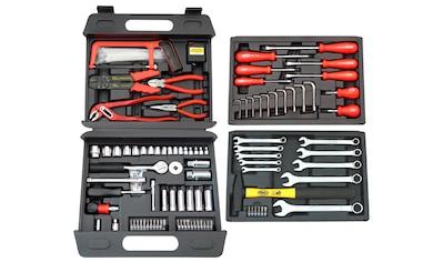 FAMEX Werkzeugkoffer »253 - 70«, 163 - tlg. Universal - Kofferset kaufen
