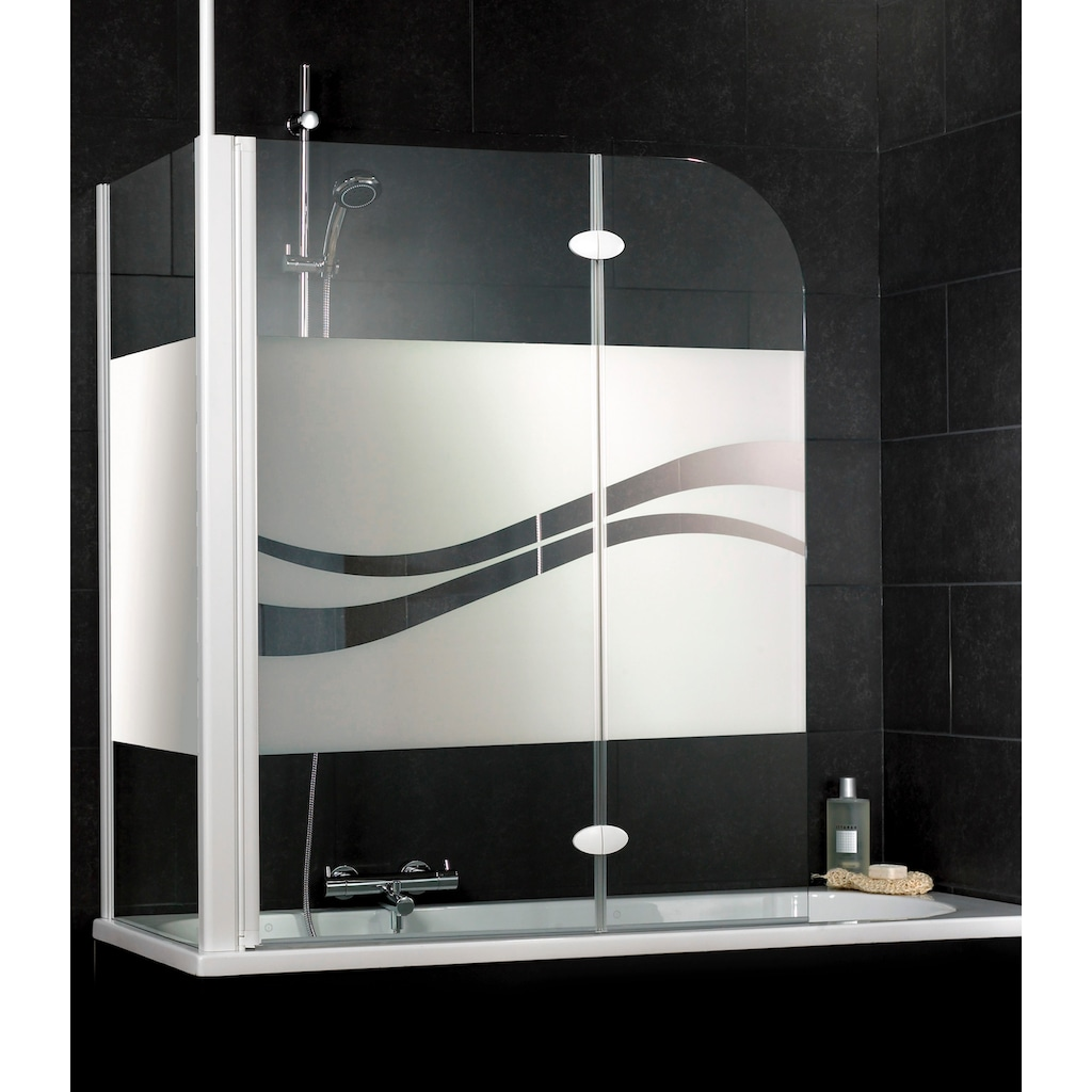 Schulte Badewannenaufsatz »Liane«, Dekor liane