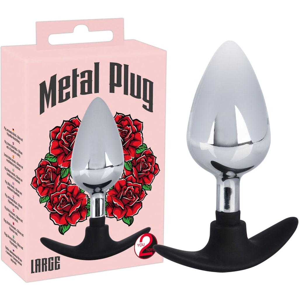 You2Toys Analplug »Metal Plug«, Large