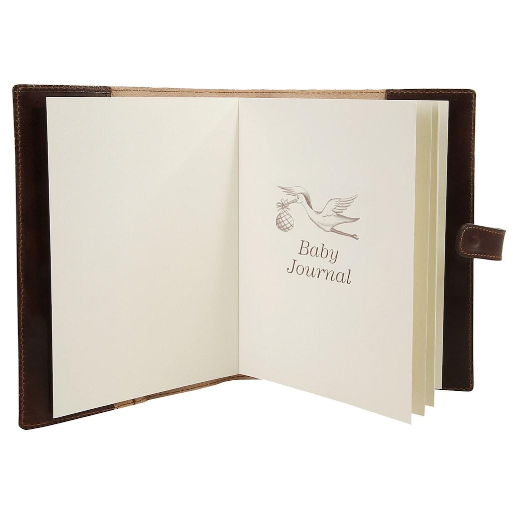 Piké Notizbuch, B5, vegetabil gegerbt