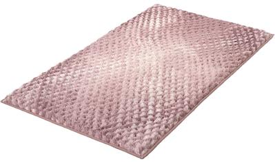 Kleine Wolke Badematte »Cory«, Höhe 24 mm, rutschhemmend beschichtet, fußbodenheizungsgeeignet kaufen