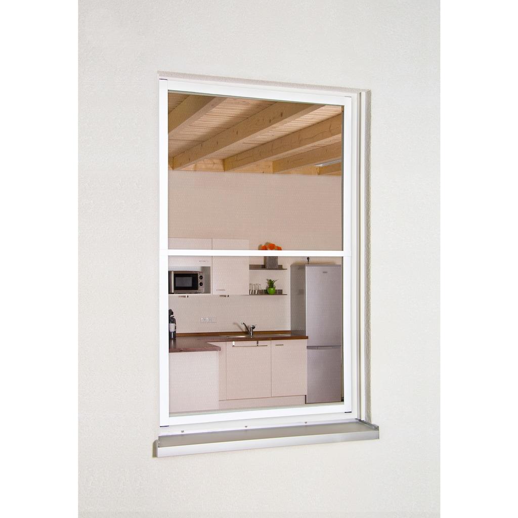 hecht international Insektenschutz-Fenster »MASTER SLIM XL«, weiß/anthrazit, BxH: 130x220 cm