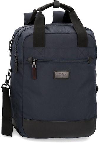 Pepe Jeans Laptoprucksack »Lambert, blau«, mit Umhängegurt kaufen