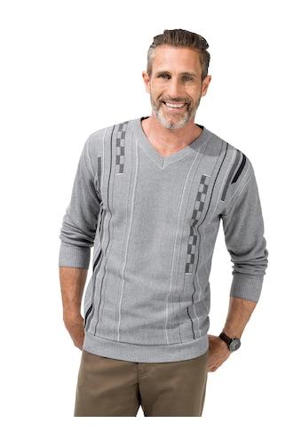 Marco Donati Pullover mit hochwertigem Jaquard - Muster kaufen