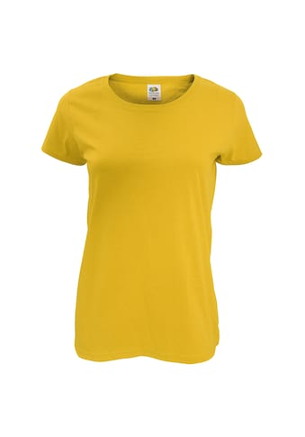 Fruit of the Loom T-Shirt »Damen Lady-Fit, kurzärmlig« kaufen