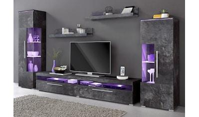 Wohnzimmermöbel Hochglanz auf Rechnung kaufen | BAUR