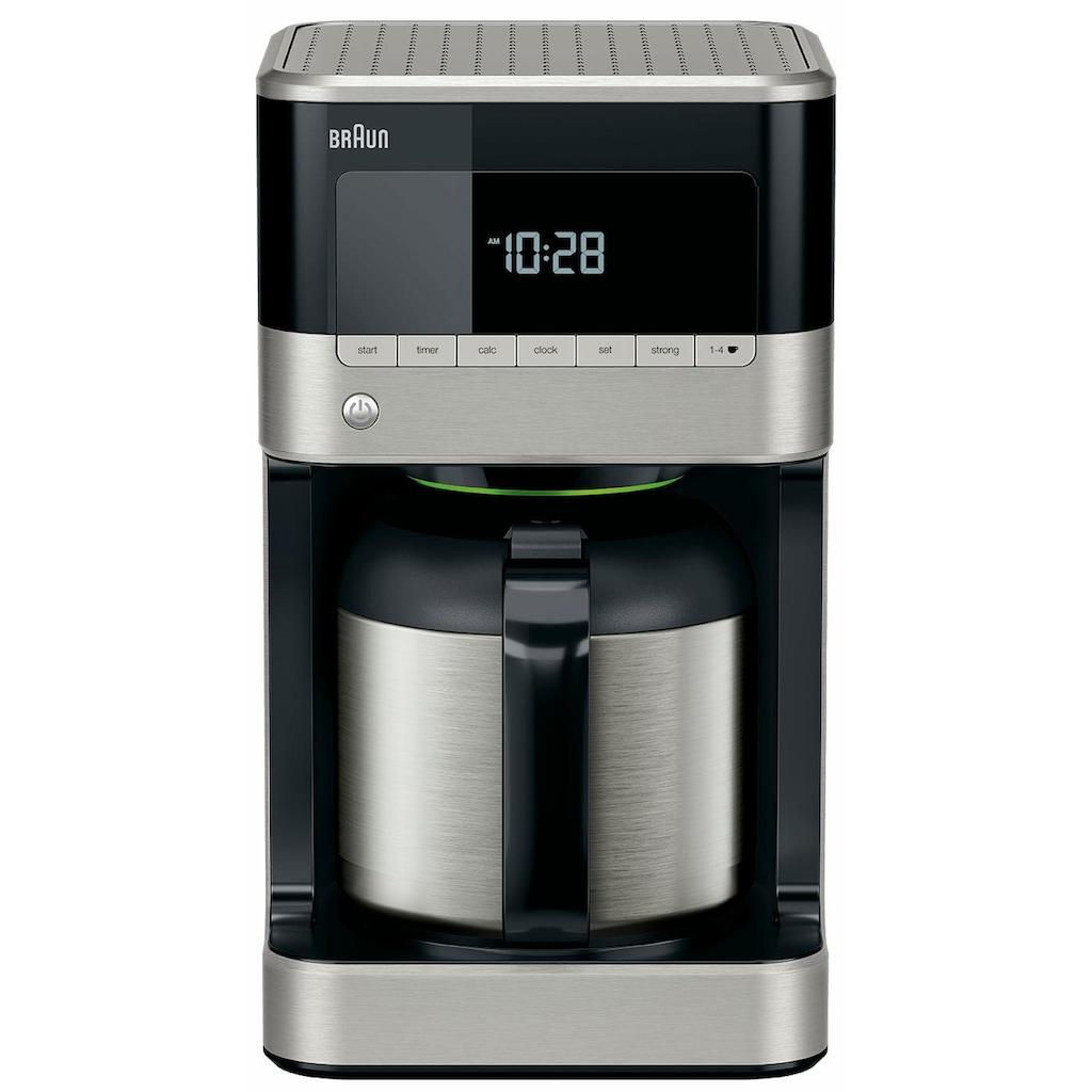 Braun Filterkaffeemaschine »PurAroma 7 KF 7125«, Papierfilter, 1x4