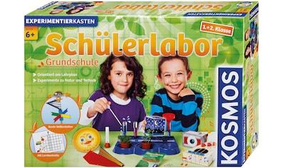 """Kosmos Experimentierkasten """"Schülerlabor Grundschule 1.+2. Klasse"""", (53 - tlg.) kaufen"""