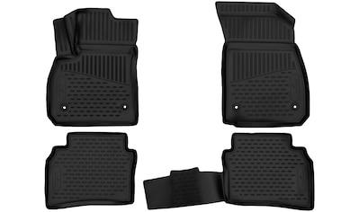 WALSER Passform-Fußmatten »XTR«, (4 St.), für Mazda 6 Stufenheck Bj 12/2012 - Heute kaufen