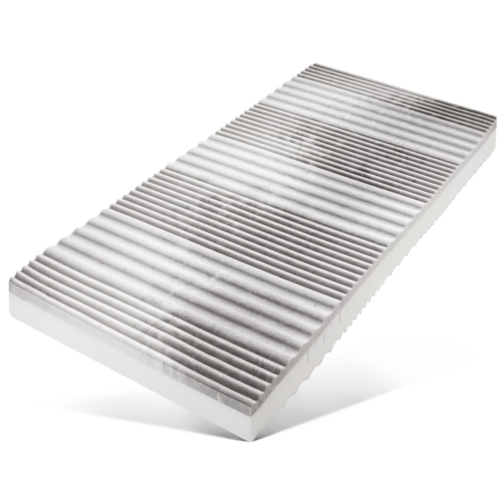 BeCo EXCLUSIV Komfortschaummatratze »Ortho-Star«, 19 cm cm hoch, Raumgewicht: 30 kg/m³, (1 St.), Wendematratze mit zwei unterschiedlich festen Liegeseiten