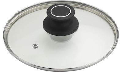 PINTINOX Deckel »Power«, (Set, 3 tlg.), Glas mit Kunststoffknauf, spülmaschinengeeignet kaufen