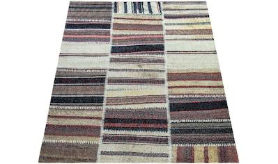 Paco Home Teppich »Artigo 400«, rechteckig, 4 mm Höhe, Kurzflor, In- und Outdoor... kaufen