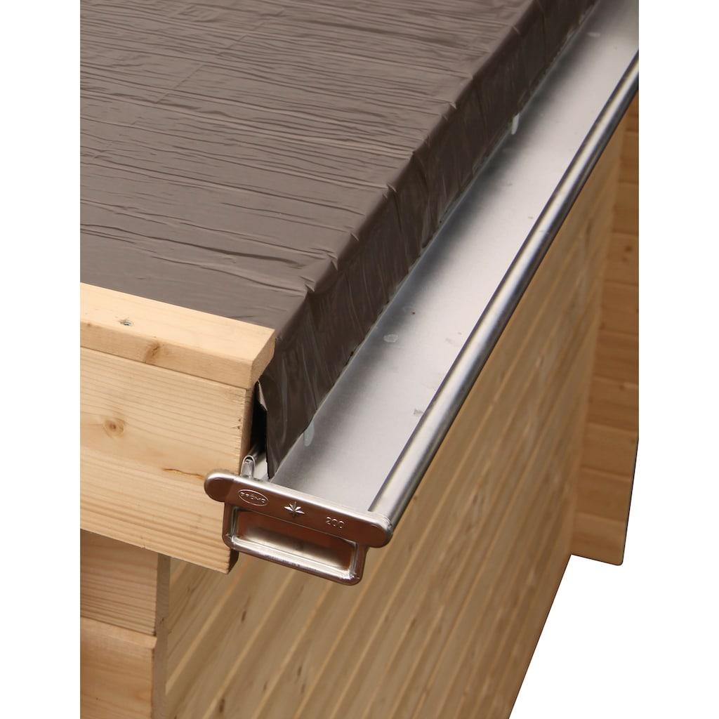 Wolff Dachrinne, Alu, für Flach- und Pultdach bis 900 cm