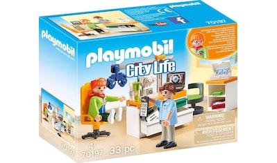 Playmobil® Konstruktions-Spielset »Beim Facharzt: Augenarzt (70197), City Life«, (33 St.), Made in Europe kaufen